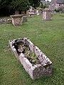 The churchyard, Hazleton - geograph.org.uk - 225599.jpg