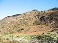The embanked Welsh Highland Railway trackbed - geograph.org.uk - 279718.jpg
