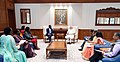The former Prime Minister of Kenya, Mr. Raila Amolo Odinga calling on the Prime Minister, Shri Narendra Modi, in New Delhi on July 03, 2018 (2).JPG
