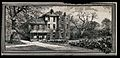 The house of Charles Darwin (Down House) in Kent. Wood engra Wellcome V0018691.jpg
