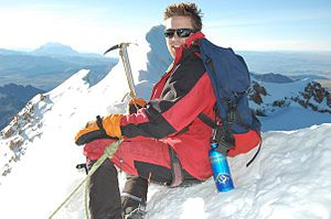Ross Thomas (actor) - Image: The peak of Huayna Potossi in Bolivia 19,974 ft