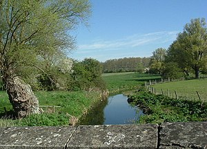 River Kym - River Kym near Great Staughton