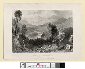 The vale of Llangollen