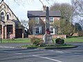 The war memorial with church behind - geograph.org.uk - 685406.jpg