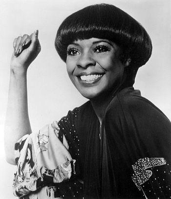 Publicity photo of singer Thelma Houston.