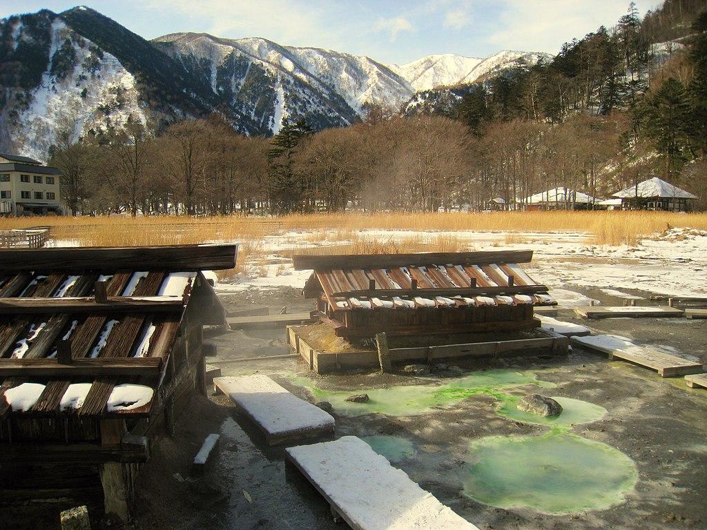 Thermal springs, Yumoto, Nikko National Park, Tochigi, Japan