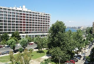 Makedonia Palace Hotel in Thessaloniki, Greece