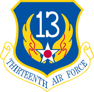 Thirteenth Air Force former United States Air Force numbered air force