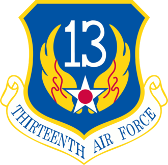 Thirteenth Air Force - Shield of the Thirteenth Air Force