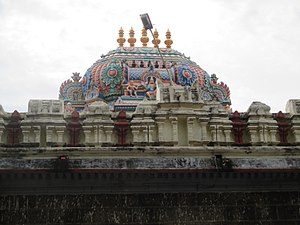 Soundararajaperumal temple, Nagapattinam - Vimana of the temple