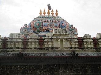 Soundararajaperumal temple, Nagapattinam - Vimana of the temple