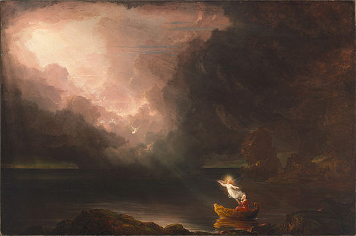 Thomas Cole - The Voyage of Life Old Age, 1840 (Munson-Williams-Proctor Arts Institute)