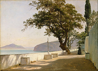 Terrace with Oak, Sorrento