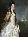 Thomas Gainsborough (1727-1788) - Susanna Trevelyan (b.1737^), Mrs John Hudson (altered by a studio assistant of Joshua Reynolds) - 584337 - National Trust.jpg