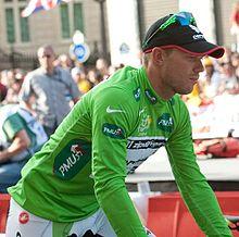 Al Tour de France del 2009 Hushovd conquista per la seconda volta la maglia verde.