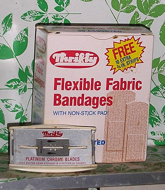 Thrifty PayLess - Thrifty was large enough to have their own brand of products.