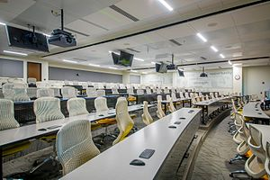 Wake Forest School of Medicine - Tiered Learning Classroom at Wake Forest School of Medicine