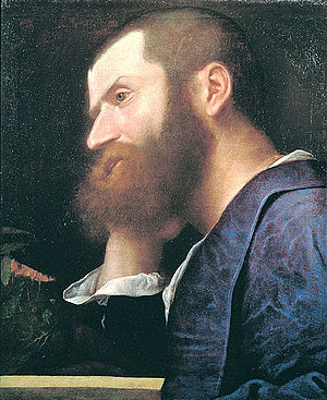 Pietro Aretino - Pietro Aretino, in Titian's first portrait of him