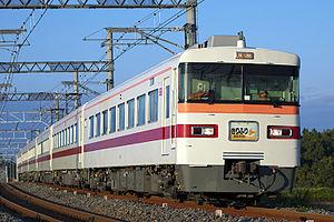 Tobu 300 series - A 300 series set on a Kirifuri service in October 2007