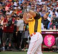 Todd Frazier competes in final round of the '16 T-Mobile -HRDerby (28491859131).jpg