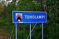 Toholampi municipal border sign 20190802.jpg