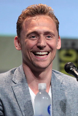 Tom Hiddleston - Hiddleston at the San Diego Comic-Con International promoting Crimson Peak in 2015.