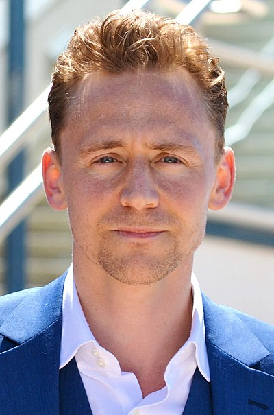 Tom Hiddleston, English actor, producer and musical performer