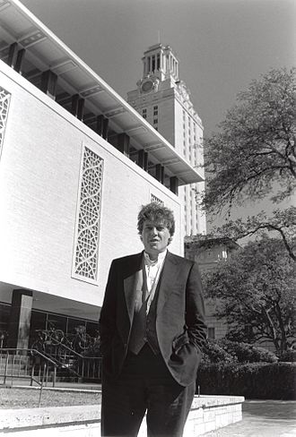 Tom Stoppard - Tom Stoppard, whose archive resides at the Harry Ransom Center, on The University of Texas at Austin campus in 1996. Image courtesy of Harry Ransom Center.