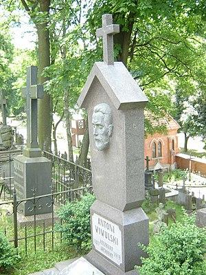 Rasos Cemetery - Tomb of Antoni Wiwulski (Antanas Vivulskis) in Rasos Cemetery