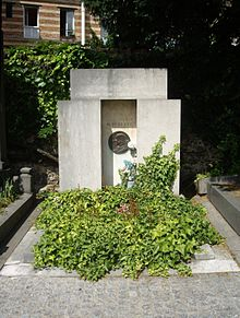 Tombe Paul Sédir, Cimetière Saint-Vincent, Paris.jpg