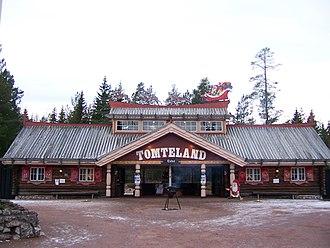 Santaworld - Image: Tomteland entrance