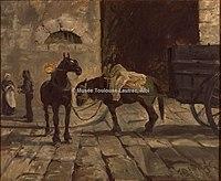 Toulouse-Lautrec - CELEYRAN, UN TOMBEREAU, 1882, MTL.82.jpg