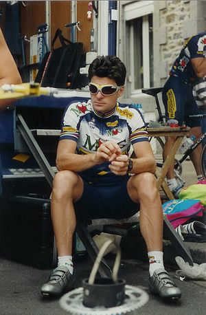 1994 Tour of Flanders - Gianni Bugno, winner of the 78th Tour of Flanders