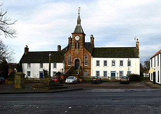 Gifford, East Lothian - Image: Town Hall, Gifford geograph.org.uk 318559