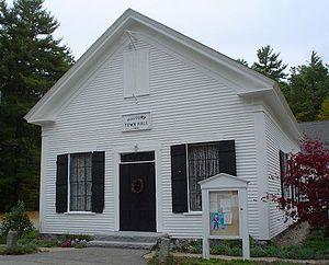 Madbury, New Hampshire - Town Hall