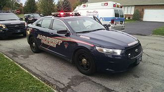 Amherst, New York - Town of Amherst police Ford Taurus