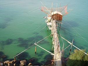 Trabucco - Trabucco from the Village of Termoli