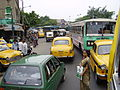 Traffic Jam At Beleghata Kolkata 8080041.JPG