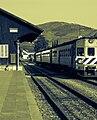 Train Departure from Pinhão train station.jpg