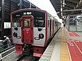 Train for Higo-Ozu Station at Kumamoto Station 2.jpg