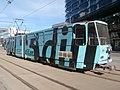 Tram 147 at Hobujaama Tram Stop in Kesklinn Tallinn 6 May 2018.jpg