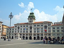 Trieste City Hall.