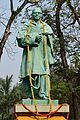 Triguna Sen Statue by Chandrashekhar Das - Jadavpur University - Kolkata 2015-01-08 2372.JPG