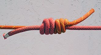 Triple fisherman's knot - Image: Triple Fishermans Knot