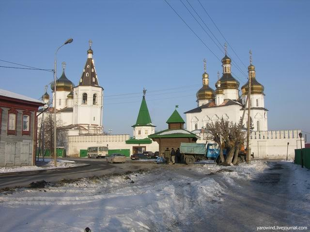 Troitsky Monastery in Tyumen