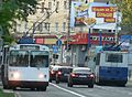 Trolleybuses Donetsk 1040 and 1692.JPG