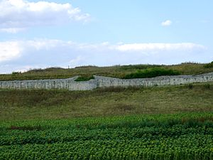 Civitas Tropaensium - Civitas Tropaensium city wall
