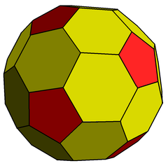 Chamfered dodecahedron