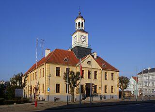 Trzebiatów Place in West Pomeranian Voivodeship, Poland