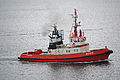 Tugboat Bever leaving Horten, Norway - 20100819.jpg